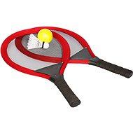 Sada raket tenis & badminton, červená