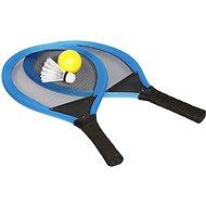 Sada raket tenis & badminton, modrá