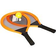 Sada raket tenis & badminton, oranžová