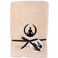 Sleep well 70x140cm/výšivka jóga - rovnováha/béžová
