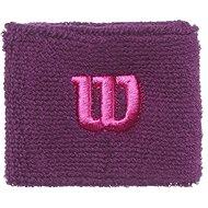 Wilson W Wristband Dark purple