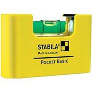 Stabila vodováha Pocket basic clip