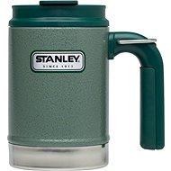 STANLEY Termohrnek outdoor Classic series 470 ml zelený s uchem a očkem