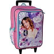 Školní batoh na kolečkách - Disney Violetta