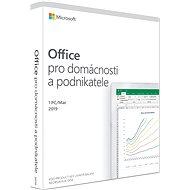 Microsoft Office 2019 pro domácnosti a podnikatele CZ (BOX)
