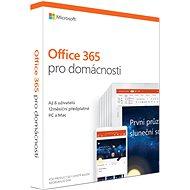 Microsoft Office 365 pro domácnosti CZ (BOX)