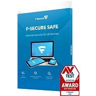 F-Secure SAFE pro 3 zařízení na 1 rok BOX
