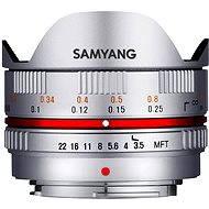 Samyang 7.5mm F3.5 MFT (Silver)