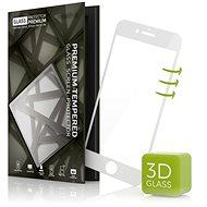 Tempered Glass Protector 3D pro iPhone 7 bílé