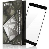 Tempered Glass Protector Rámečkové pro Samsung A8 Černé
