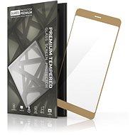 Tempered Glass Protector Rámečkové pro Samsung Galaxy A3 (2017) Zlaté