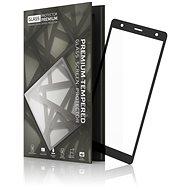 Tempered Glass Protector Rámečkové pro Sony Xperia XZ2 Černé