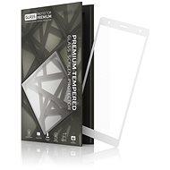 Tempered Glass Protector Rámečkové pro Sony Xperia XZ2 Bílé