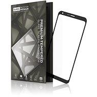 Tempered Glass Protector Rámečkové pro LG Q6 Černé