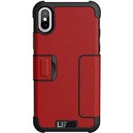 UAG Metropolis Case Magma Red iPhone X