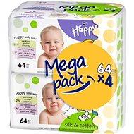 Bella HAPPY Baby hedvábí a bavlna  (4x64 ks)