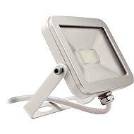 Solight venkovní reflektor 10W, bílo-stříbrný