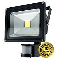 Solight venkovní reflektor se senzorem 20W, černý