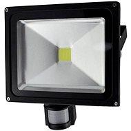 Solight venkovní reflektor se senzorem 50W, černý