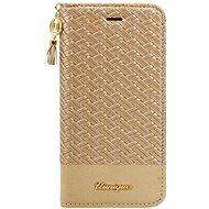 Uunique flip Champagne Weave iPhone 7/8 Beige