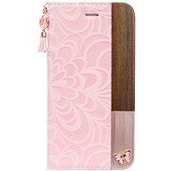 Uunique flip Embossed Butterfly iPhone 7/8 Pink