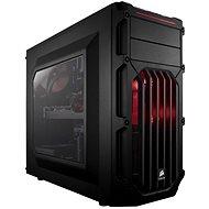 Corsair SPEC-03 Red LED Carbide Series černá s průhlednou bočnicí