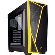 Corsair SPEC-04 Black/Yellow Carbide Series černá/žlutá s průhlednou bočnicí