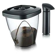 VacuVin Set vakuové dózy na kávu 1.34l/500g a vakuové pumpy