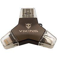 Viking USB Flash disk 3.0 4v1 64GB černá