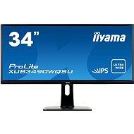 "34"" iiyama ProLite XUB3490WQSU Ultrawide"