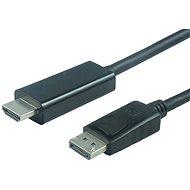 PremiumCord DisplayPort - HDMI propojovací 2m černý