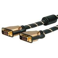 ROLINE Gold DVI dual link, ferity, 7.5m