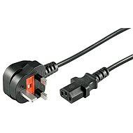 Goobay UK/ CZ BS1363 (typ G) - IEC320 C13, 1.8m