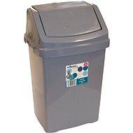 Wham Koš odpadkový 15l stříbrný 11745