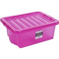 Wham Box s víkem 16l růžová 12317