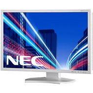 "23"" NEC MultiSync LED P232W stříbrno-bílý"