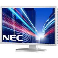 "24"" NEC MultiSync PA242W-SV2 bílý"