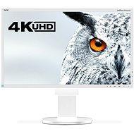"24"" NEC MultiSync LED EA244UHD bílý UHD 4K"