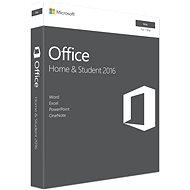 Microsoft Office Home and Student 2016 ENG pro MAC - 1 uživatel/ 1 počítač