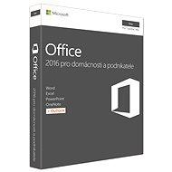 Microsoft Office 2016 pro domácnosti a podnikatele pro MAC CZ - 1 uživatel/ 1 počítač