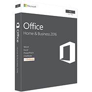 Microsoft Office Home and Business 2016 ENG pro MAC - 1 uživatel/ 1 počítač