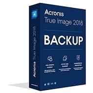 Acronis True Image 2018 CZ Upgrade pro 1 PC