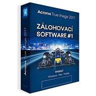 Acronis True Image 2017 CZ pro 3 PC (elektronická licence)