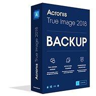 Acronis True Image CZ Upgrade pro 1 PC z OEM verze (elektronická licence)
