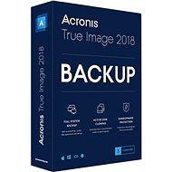 Acronis True Image 2018 CZ Upgrade pro 3 PC (elektronická licence)