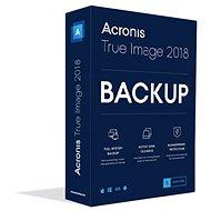 Acronis True Image 2018 CZ Upgrade pro 5 PC (elektronická licence)