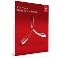 Adobe Acrobat Pro DC v 2015 CZ Upgrade