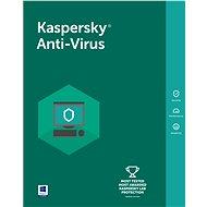 Kaspersky Anti-Virus 2016/2017 pro 2 počítače na 12 měsíců