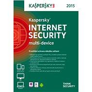 Kaspersky Internet Security multi-device 2015 pro 3 zařízení na 12 měsíců