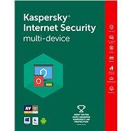 Kaspersky Internet Security multi-device pro 4 zařízení na 12 měsíců